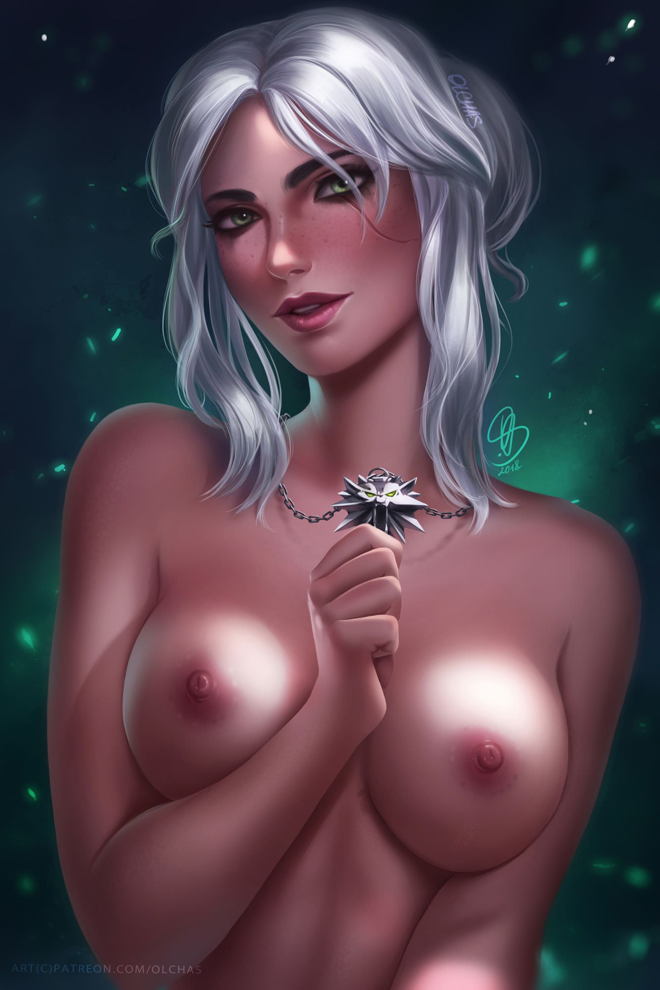 Nude ciri Witcher Cosplay